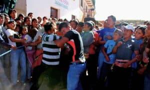 Bolivian fight club