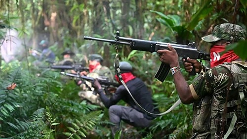Rebels on the panama colombia border. The worlds most dangerous hike.