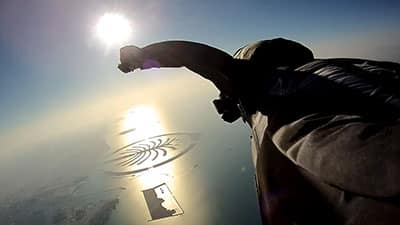 How to learn to wingsuit over the ocean