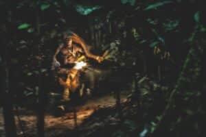 man-running-though-jungle