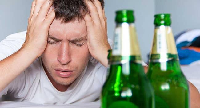 quit booze hangover