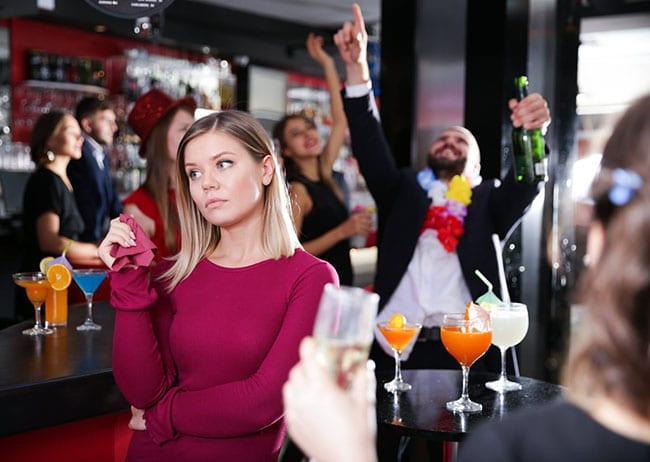 quit booze woman