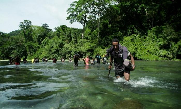 The world's deadliest hike. Migrants in The Darien Gap