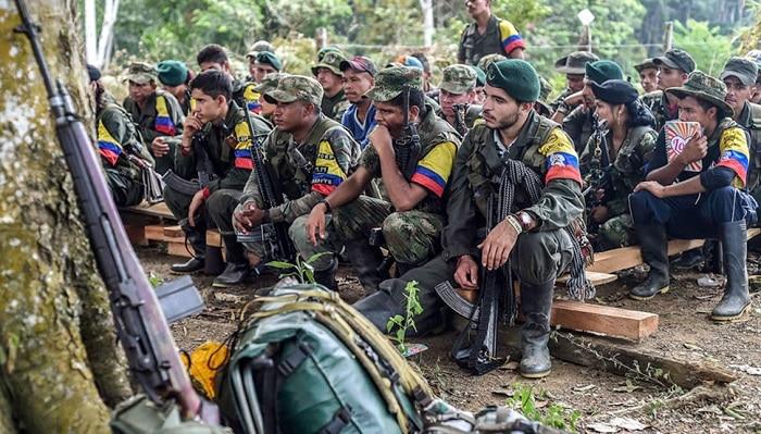 FARC Rebels in the Darien Gap