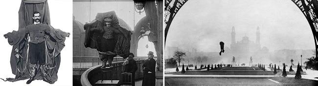 Franz Reichelt dies after jumping from Eiffel Tower